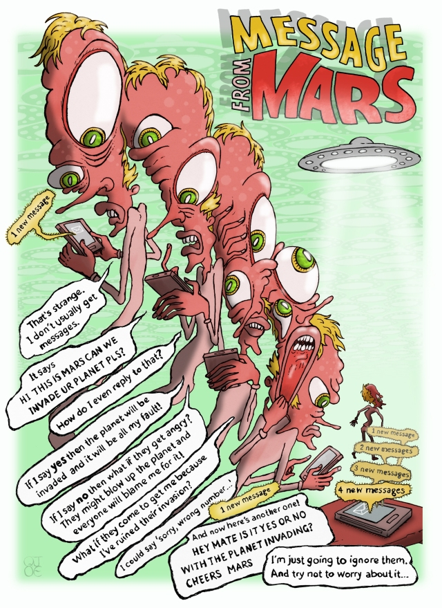 MESSAGE from MARS comic final