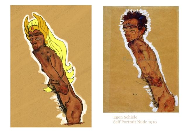 Schiele Ra Nude