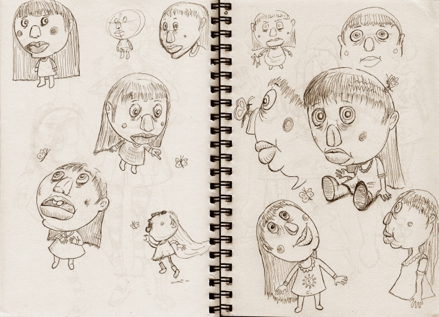 character sketchbook 01