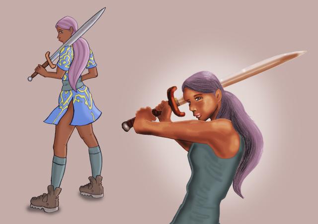 Sword She Her